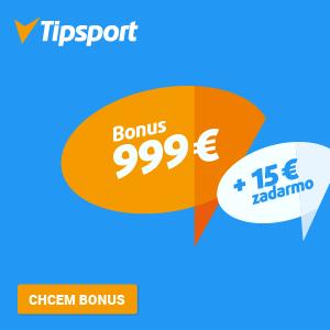 Bonus 999 € + 15 € zadarmo